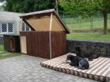 nová zateplená bouda