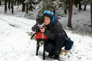 První sníh, JČ říjen 2012