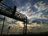Ráno ve vlaku