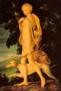 Diana as Huntress (Luca Penni,1550)